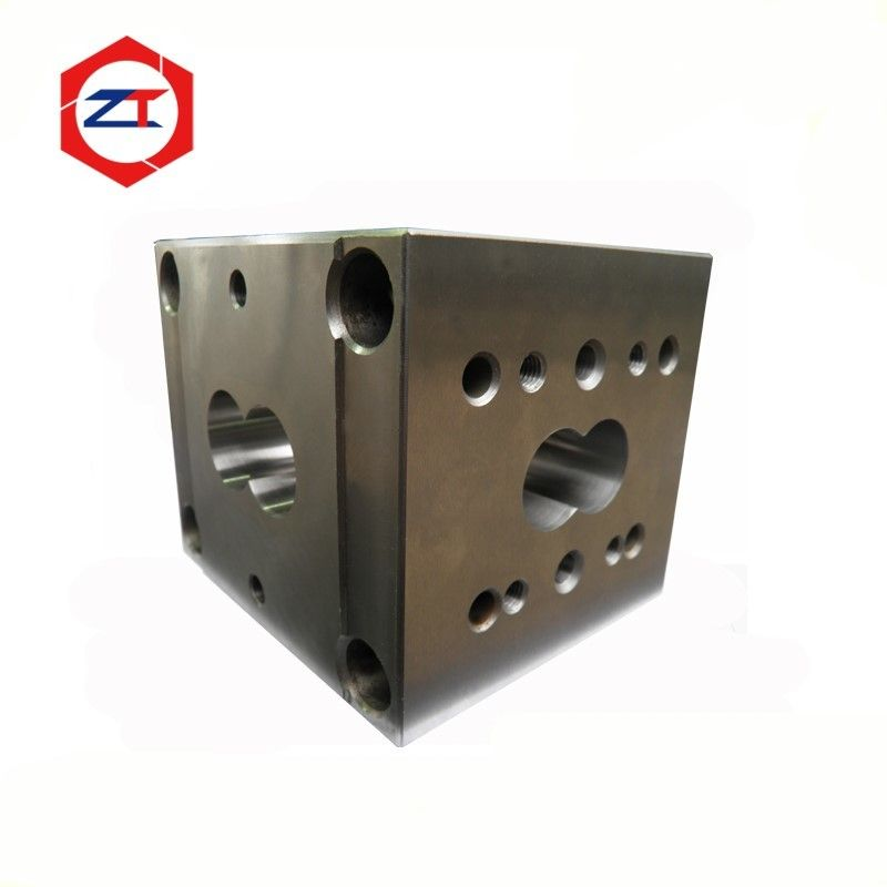 27mm Square Screw Barrel Of Twin Screw Extruder Parts For ZSE Leistritz Machine